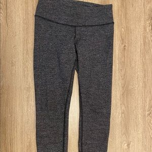 Lululemon Leggings Grey High Rise Full Length 6